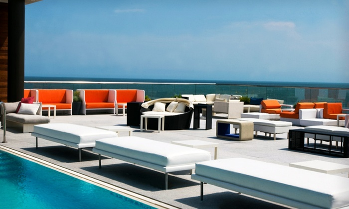Allegria Hotel - Long Beach: One-Night Stay for Two in a Beach-View Room at Allegria Hotel in New York