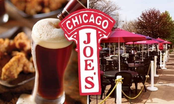 Chicago Joe's - North Center: $7 for $15 Worth of Neighborhood Grill Fare & Drinks at Chicago Joe's