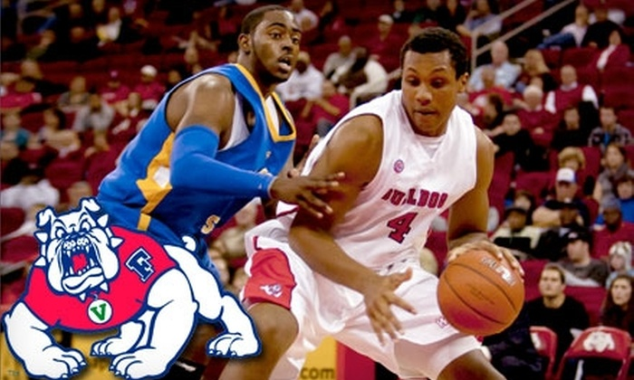 Fresno State Bulldogs - Hoover: $7 for Adult Ticket ($15 Value) or $3 for Youth Ticket ($7 Value) to Fresno State Men's Basketball Game