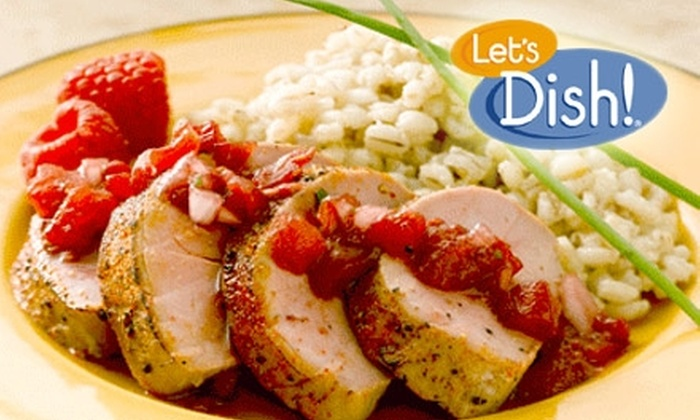 Let's Dish! - Philadelphia: $74 for Four Meals (Serving Two to Three) with Dessert and Scones from Let's Dish! ($124 Value)