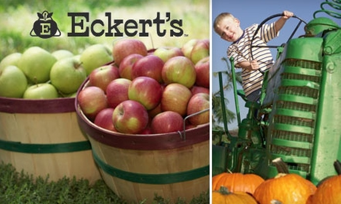 Eckert's Millstadt Farm - Millstadt: $8 for Two Tickets to Eckert's Farm in Millstadt, IL (Up to $16 Value)