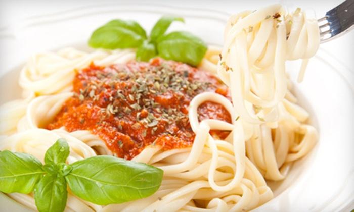 Tuscany Ristorante Italiano - Kiln Creek: $30 for Italian Dinner for Two at Tuscany Ristorante Italiano in Newport News (Up to $59.40 Value)