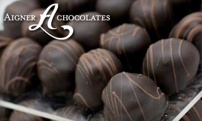 Aigner Chocolates - New York City: $15 for $30 Worth of Treats at Aigner Chocolates in Queens