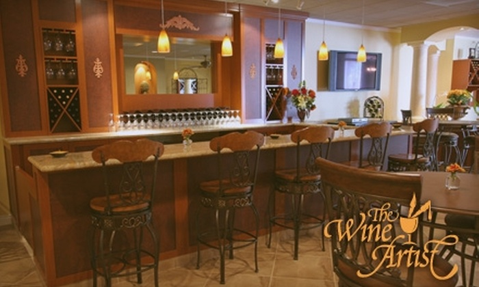 The Wine Artist - Irvine Industrial Complex-East: $49 for a Wine-Bottling Experience and Tastings for Two at The Wine Artist ($100 Value)