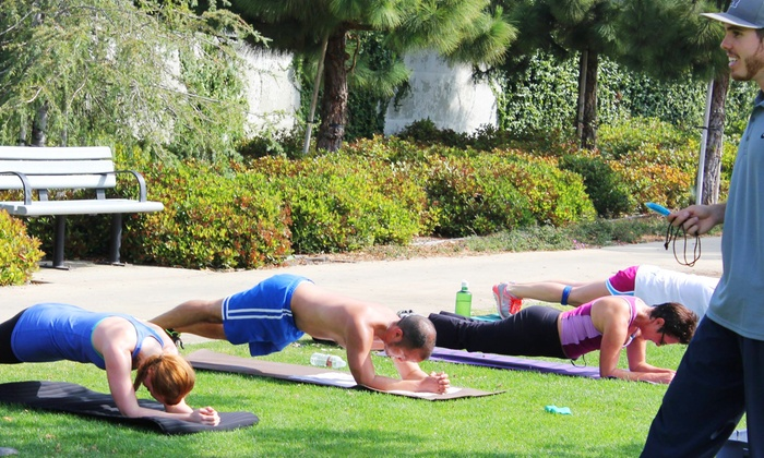 Sweat City Fitness - Veterans Memorial Park: 5 or 10 Boot-Camp Classes at Sweat City Fitness (Up to 71% Off)
