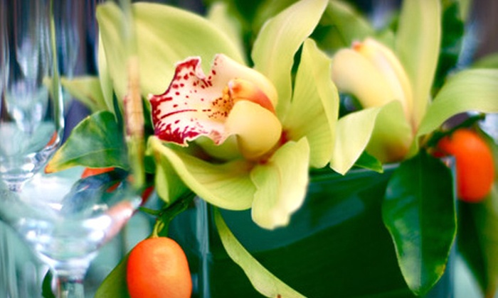 Blossoms Flower Shop - Sugarloaf: $25 for $50 Worth of Flowers and Vases at Blossoms Flower Shop in San Mateo