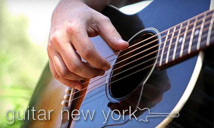 Guitar New York - Midtown Center: $45 for Two 30-Minute Guitar Lessons ($90 Value) or $85 for Four 30-Minute Guitar Lessons ($180 Value) at Guitar New York