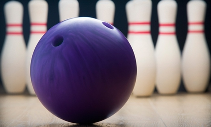 MaxBowl - Multiple Locations: $6 for Two Games of Bowling and Shoe Rental at MaxBowl (Up to $16 Value)