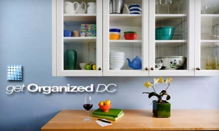 Get Organized DC - Downtown - Penn Quarter - Chinatown: $75 for Two Hours of Professional Home-Organization Services Plus Customized Resource Guide from Get Organized DC ($220 Value)