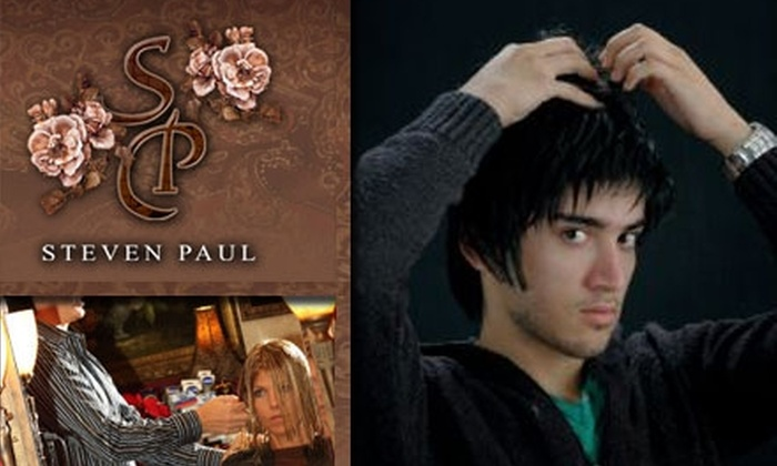 Steven Paul Salon - Downtown Scottsdale: $15 for a Men's Haircut, Shampoo, and Styling With Ron Baron at Steven Paul Salon (Up to $45 Value)