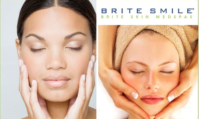 Brite Smile - Multiple Locations: Skin Analysis and Five-Star Custom Facial at BriteSmile