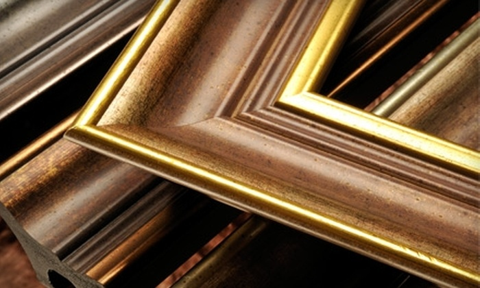 Creative Framing - Downtown Kingston: $60 for $125 Worth of Custom Framing at Creative Framing, Located Within Gallery Raymond