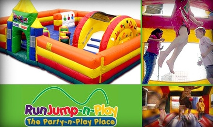 Run, Jump,-n-Play - Deerfield: $10 for $20 Worth of Kids Playtime and Party Zone Sessions at Run, Jump,-n-Play
