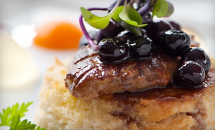4-Course Dinner for 2 (a $150 value) - La Residence in Chapel Hill