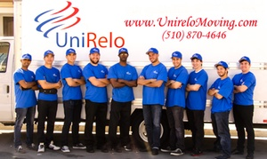 UniRelo Moving: Two Hours of Moving Services with Two Movers and One Truck from UniRelo Moving & Storage (56% Off)