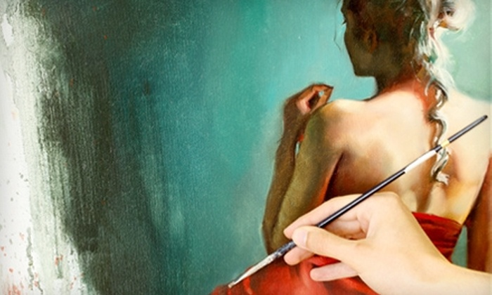 Anna Art Academy - Concord: $16 for a Two-Hour Art Class at Anna Art Academy in Concord ($40 value)