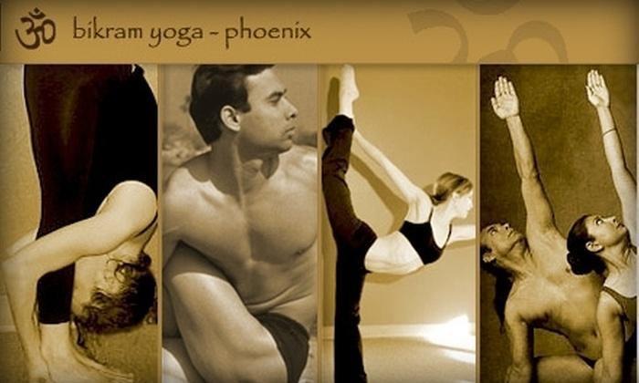 Bikram Yoga Phoenix - Windsor Square: $15 for One Month of Unlimited Hot Yoga at Bikram Yoga Phoenix ($160 Value)