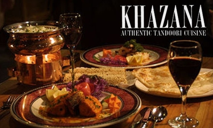 Khazana - Downtown: $12 for $24 Worth of Indian Cuisine and Drinks at Khazana