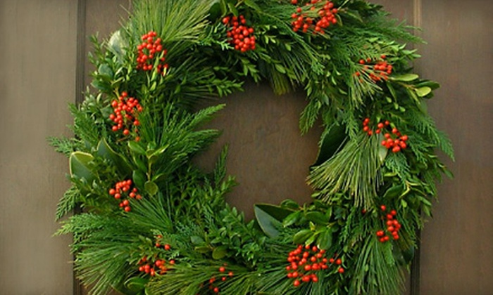 Toms Creek Nursery and Landscaping - Denton: $20 for a Wreath-Making Workshop at Toms Creek Nursery and Landscaping in Denton ($40 Value)