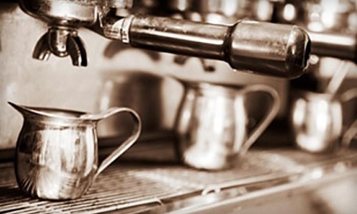 White Rhino Coffee - Cedar Hill: $6 for $12 Worth of Coffee and More at White Rhino Coffee in Cedar Hill