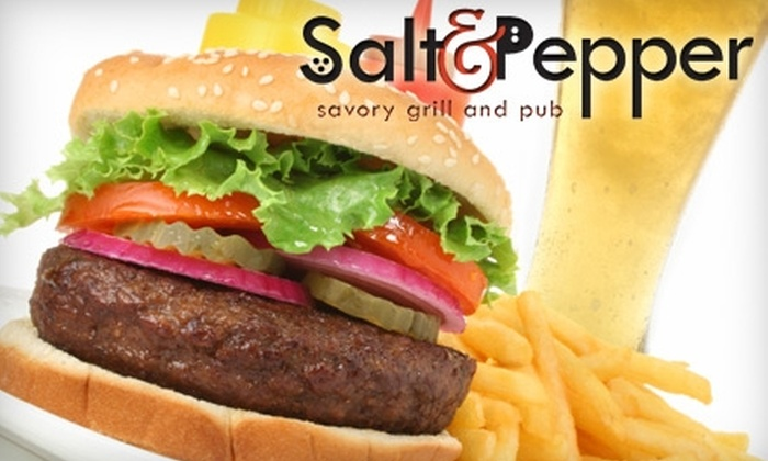 Salt & Pepper Savory Grill and Pub - Holland: $12 for $25 Worth of Delectable Pub Food and Local Brews at Salt & Pepper Savory Grill and Pub in Holland