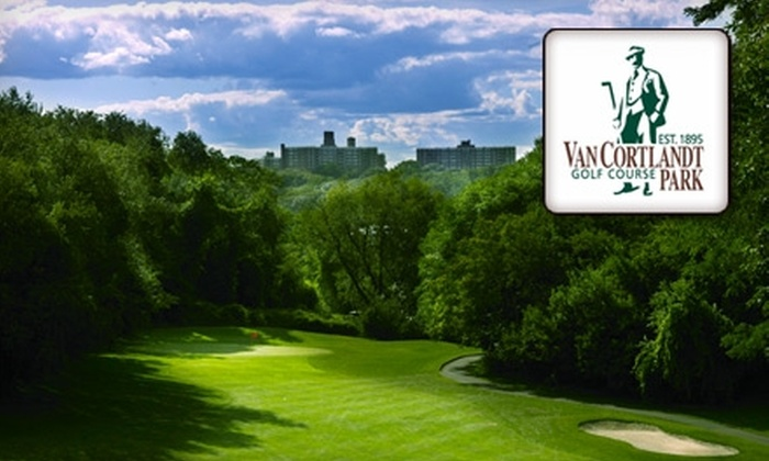 Van Cortlandt Park Golf Course - Van Cortlandt Park: 18 Holes of Golf and Golf Cart Rental for Two at Van Cortlandt Park Golf Course (Up to $134.20 Value). Choose Between Two Options.