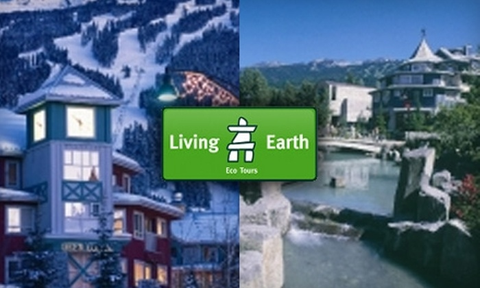 Living Earth Tours - Ardingley-Sprott: $59 for Bus Tour of Whistler on Living Earth ($119 Value)