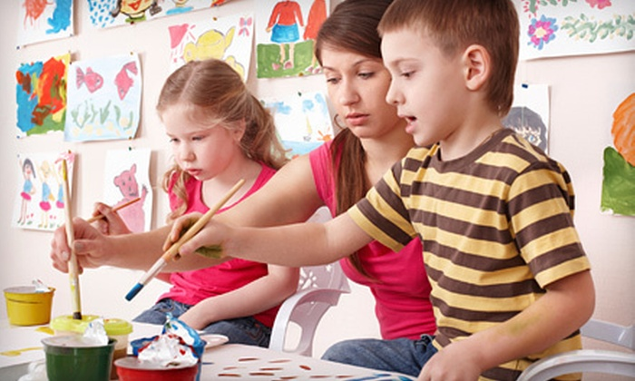 The Light Academy - Fairview Park: 5 or 10 Children's Art Classes at The Light Academy in Fairview Park (Up to 53% Off)