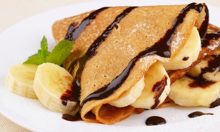 Up to 40% Off $12 for $20 Delivery/Take Out  at The Flaming Creperie LLC.