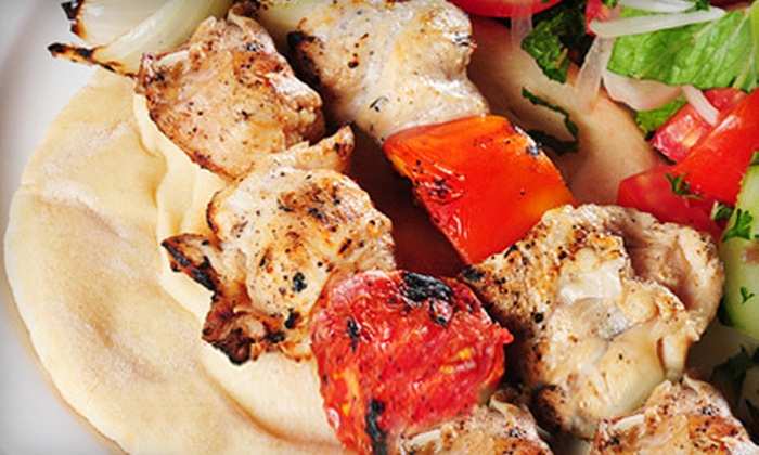 Olive Bistro - Multiple Locations: Mediterranean Lunch or Dinner for Two at Olive Bistro (Up to 54% Off)