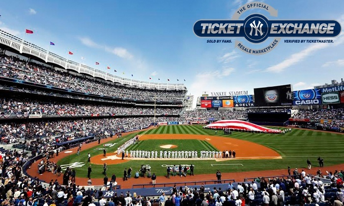 New York Yankees - YANKEE STADIUM: Discounted Tickets for New York Yankees Home Games Via Yankees Ticket Exchange, Starting at $10