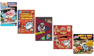 Amazing World of Gumball Kids' Book Set (5-Piece)