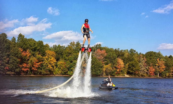We Deliver Water Sports - Jacksonville Beach: $149 for a Flyboard Lesson with Equipment Rental and Delivery from We Deliver Watersports ($299 Value)