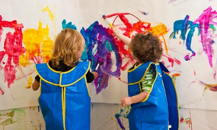 $46 for 3 Kids' Classes, 2 Playspace Sessions, and $50 Toward Birthday Party at Kidville ($122 Value)