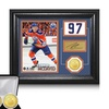 NHL Connor McDavid Framed Photos and Coin Sets