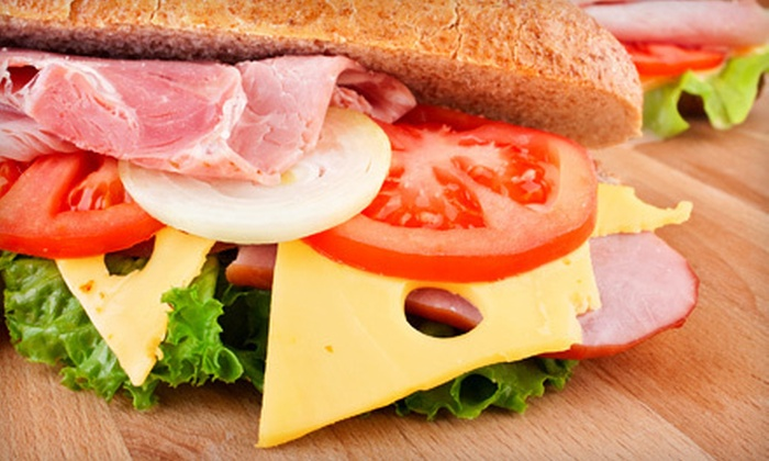 Central Park Deli - Southfield: Two or Four Sandwich Combos at Central Park Deli (Up to 53% Off)