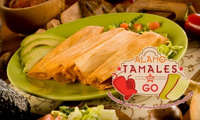 Alamo Tamales To Go - Clear Lake: $14 for Three Dozen Regular Tamales to Go from Alamo Tamales To Go in Clearlake City