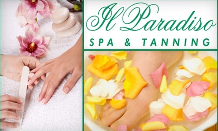 Il Paradiso Spa & Tanning - Woodroofe - Lincoln Heights: $29 Mani-Pedi at Il Paradiso Spa & Tanning