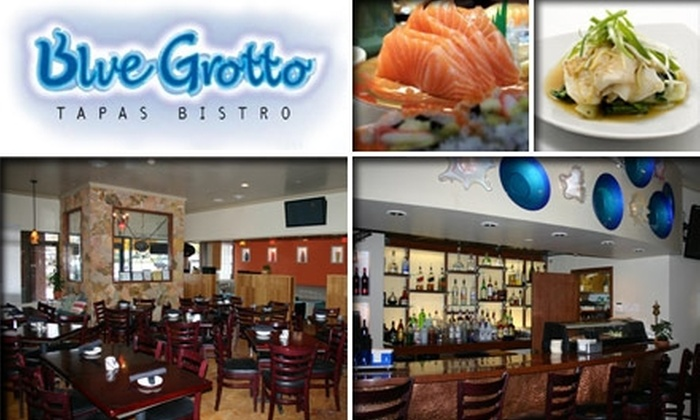 Blue Grotto - Sandy Springs: $10 for $25 Worth of Tapas, Sushi, and Drinks at Blue Grotto