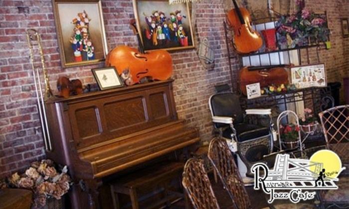Riverwalk Jazz Café - Ozark: $10 for $20 Worth of Café Fare and Drinks at Riverwalk Jazz Café