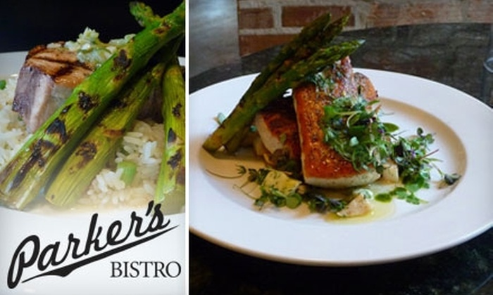 Parker's Bistro - Downtown: $15 for $30 of Bistro Fare and Fine Wines at Parker's Bistro