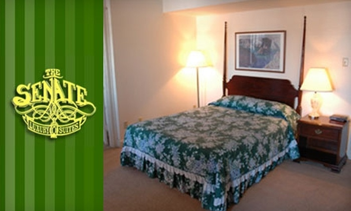 The Senate Luxury Suites - Old Town: $49 for a One-Night Stay at The Senate Luxury Suites ($99 Value)