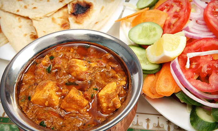 Taste of India - Westcott: Indian Buffet for Two or $10 for $20 Worth of Indian Fare at Taste of India