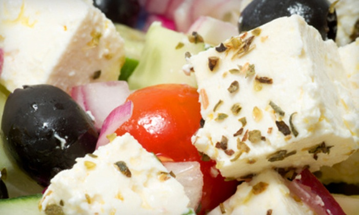 The Olive Tree Restaurant - Multiple Locations: Greek and Italian Dinner with Appetizers and Entrees for Two or Four at The Olive Tree Restaurant (Up to 55% Off)
