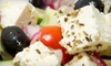 Up to 55% Off Greek Fare at The Olive Tree Restaurant