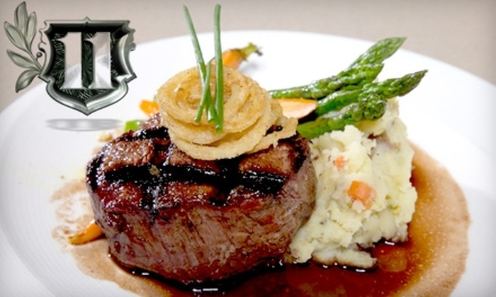 District Grill Restaurant & Eleven Nightclub - West Hollywood: $14 for $30 Worth of Fare and Drink at District Grill Restaurant & Eleven Nightclub in West Hollywood