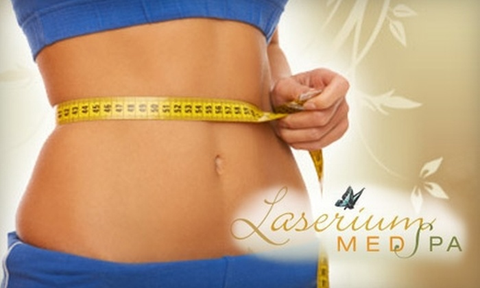 Laserium Med Spa - Multiple Locations: $79 for One 30-Minute LipoLaser Treatment at Laserium Med Spa ($300 Value)