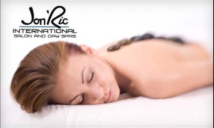 Jon 'Ric International Salon and Day Spa - LoDo: $69 for a 90-Minute Aromatherapy Massage with Hot Stone at Jon 'Ric International Salon and Day Spa