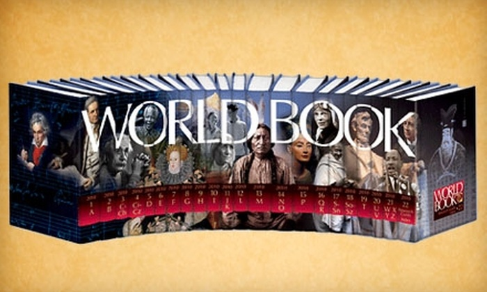 World Book: Half Off Print and Online Educational Resources from World Book. Two Options Available.