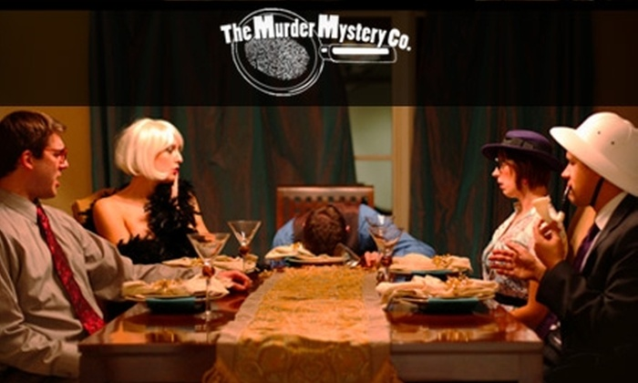 The Murder Mystery Company - Lake Geneva: $30 for Admission to a Murder-Mystery Dinner Show by The Murder Mystery Company at the Baker House 1885 in Lake Geneva ($60 Value)